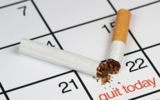 Quitting smoking with nicotine pouches
